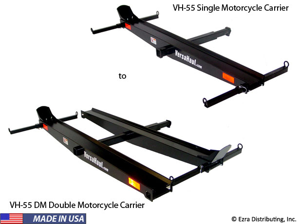 Single Motorcycle Carrier to Double Motorcycle Carrier Kit